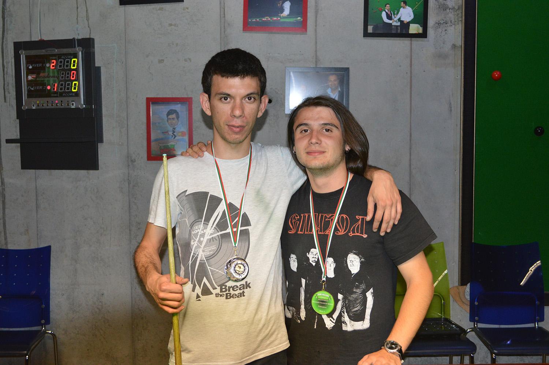 Ивайло Гьоков (ляво) и Георги Горанов (дясно) изиграха невероятен финал, в който за съжаление можеше да има само един победител