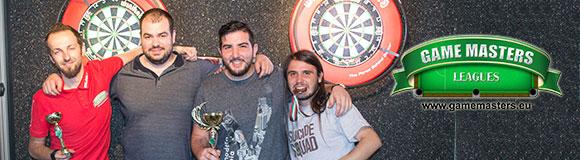 Саркис Топакбашян печели феноменални дартс плейофи